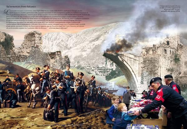 Carabinieri, il Calendario 2014 che celebra i 200 anni dell'Arma0016