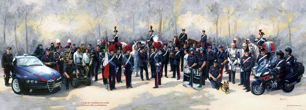 Carabinieri, il Calendario 2014 che celebra i 200 anni dell'Arma04