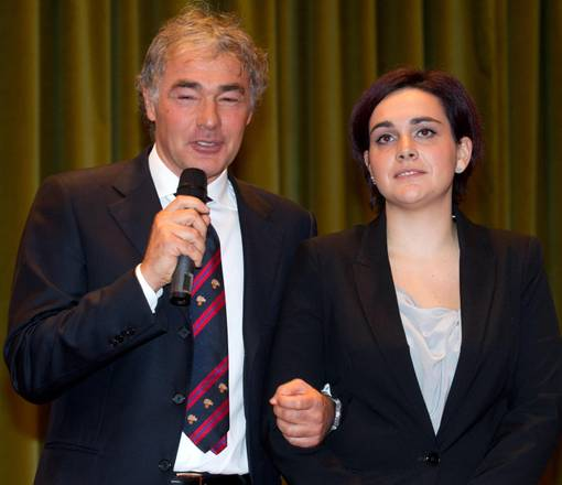 Massimo Giletti e Martina Giangrande
