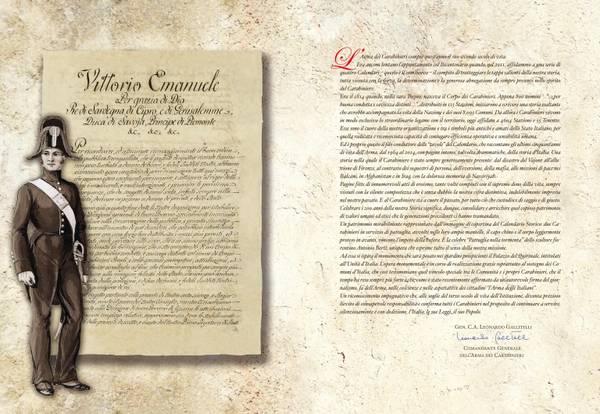 Carabinieri, il Calendario 2014 che celebra i 200 anni dell'Arma0014