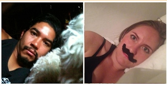 Danielle imita i 'selfie' del proprietario del suo iPhone rubato 03