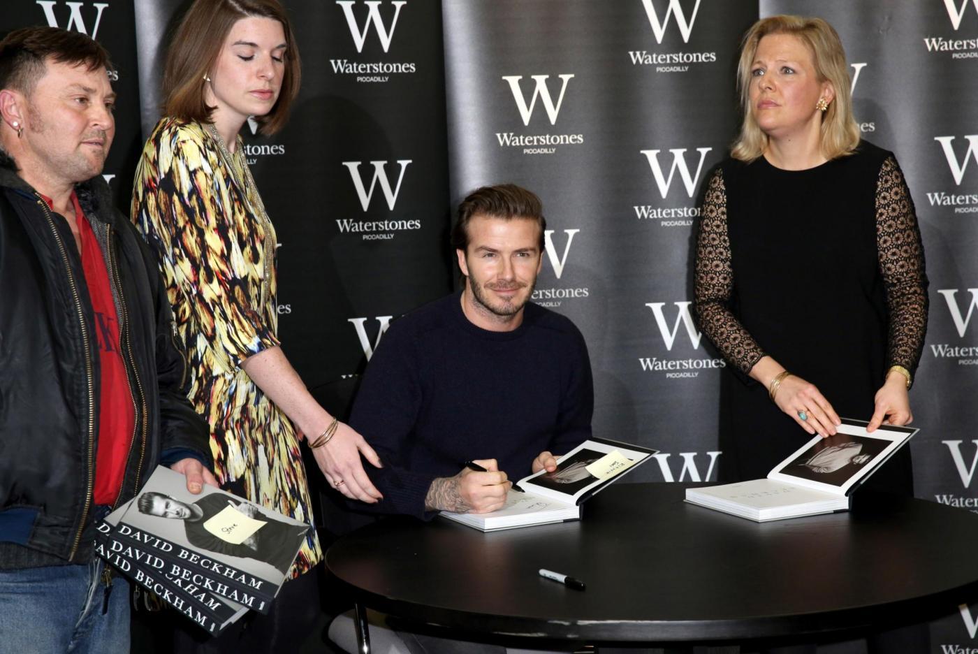 David Beckham presenta la sua autobiografia 02