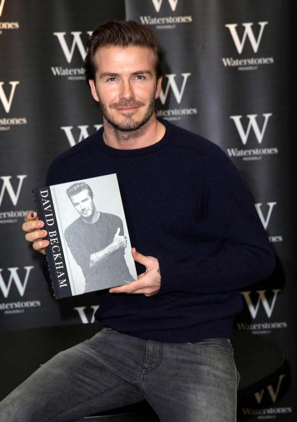 David Beckham presenta la sua autobiografia 01