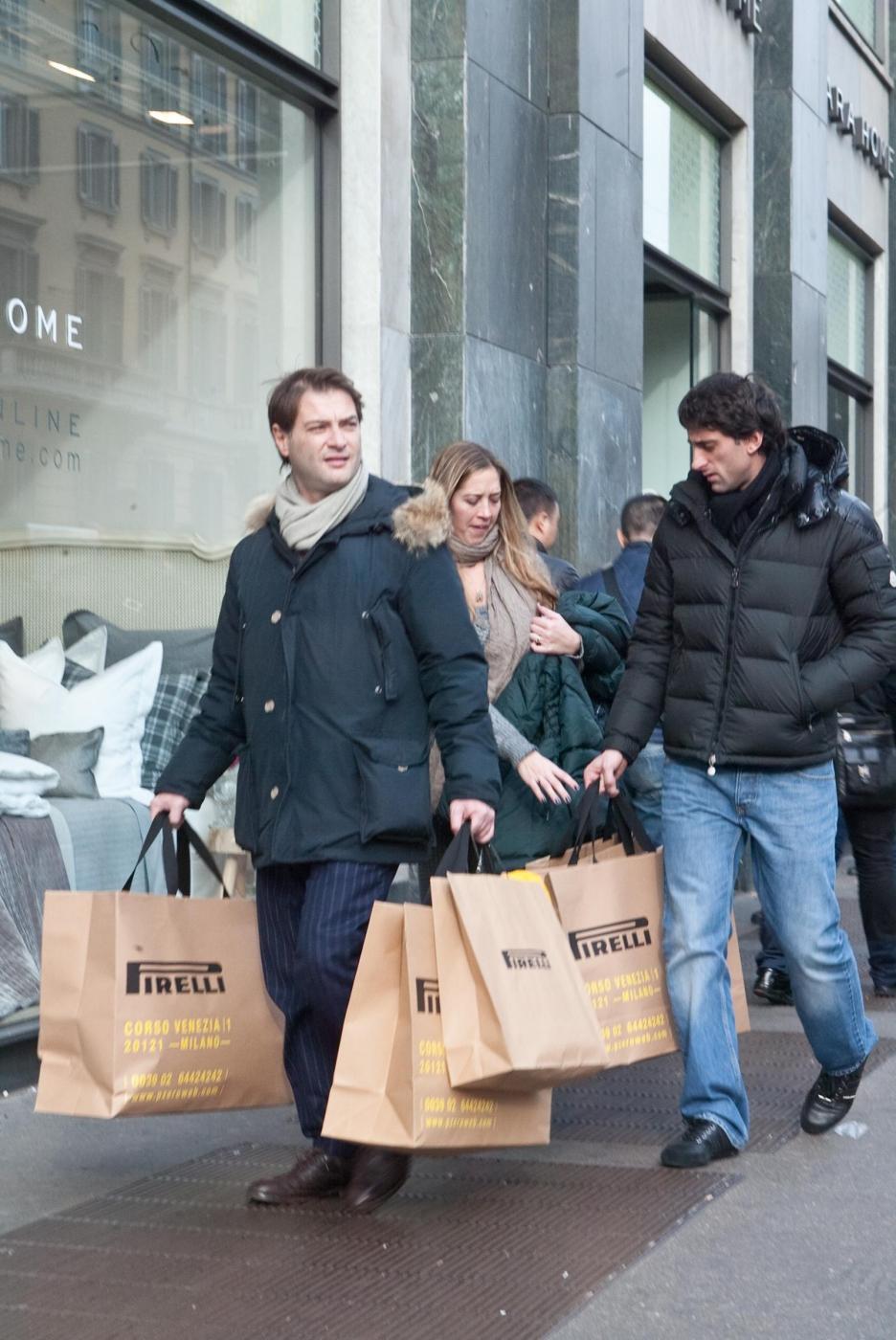 Diego Milito al Flagship Store di Pirelli in Corso Venezia a Milano01