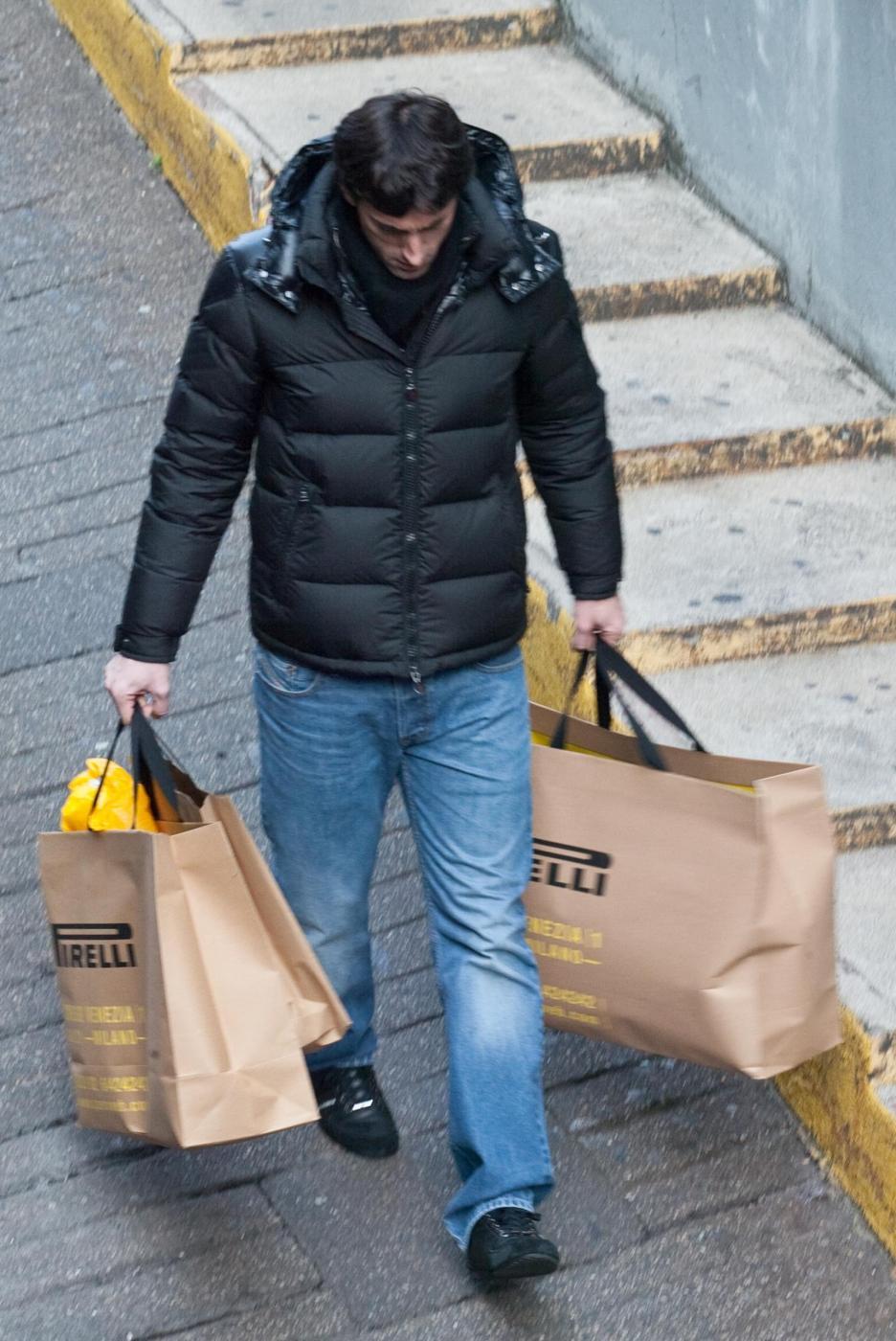 Diego Milito al Flagship Store di Pirelli in Corso Venezia a Milano04