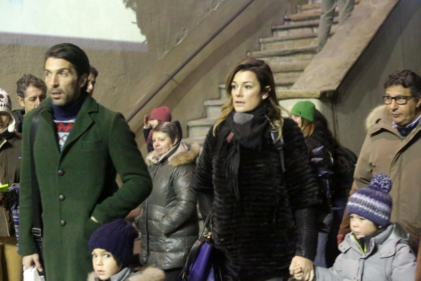 Gigi Buffon e Alena Seredova in crisi Macché, eccoli insieme a Courmayeur05