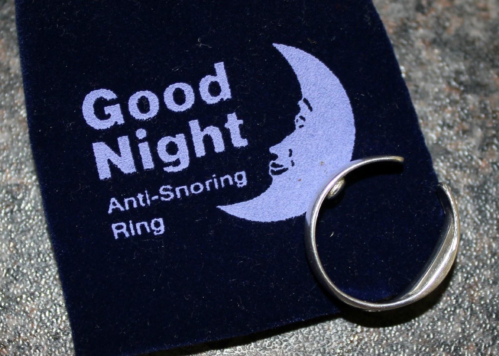 """Smettere di russare? Basta un anello: e poi """"Good Night"""""""
