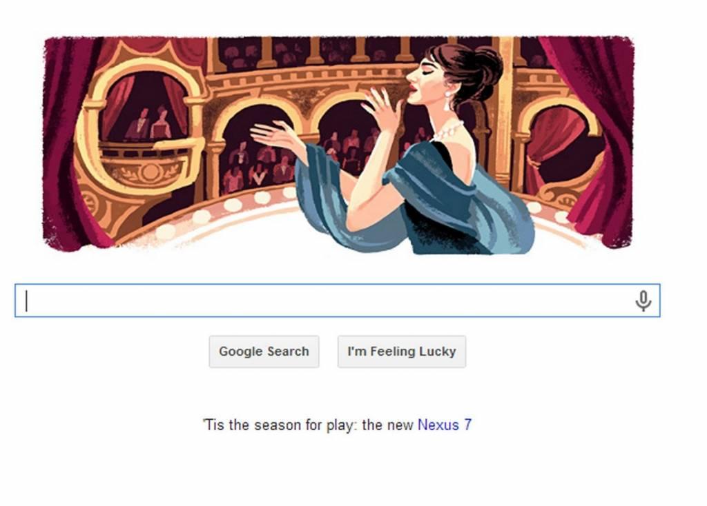 Google_celebra_Maria Callas_con_un_doodle_nel_giorno_del_suo_90esimo_compleanno