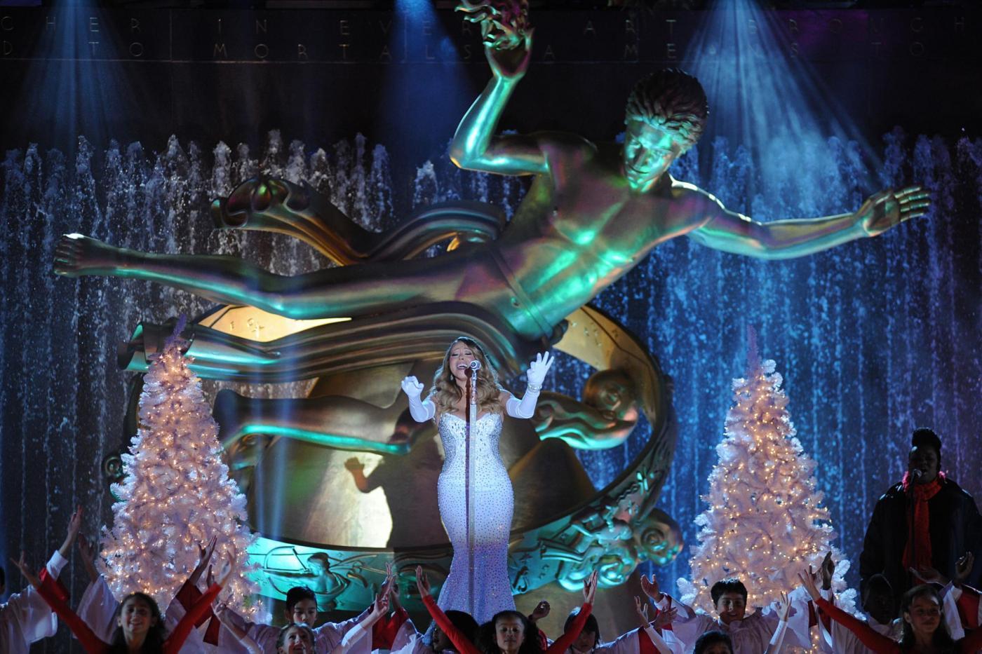 Mariah Carey canta al Rockfeller Center02