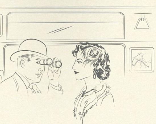 Parigi, i 12 comandamenti del galateo in metrò: 1° Non fissare belle donne...01