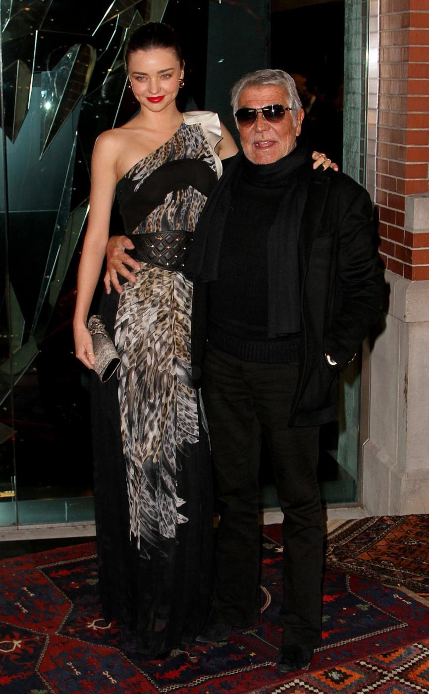 Miranda Kerr e Carol Alt inaugurano store Just Cavalli di New York 05