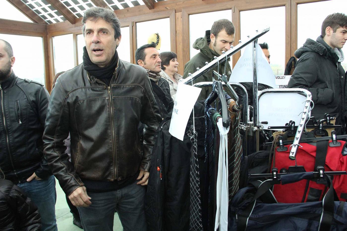 Raoul Bova all'evento benefico natalizio07