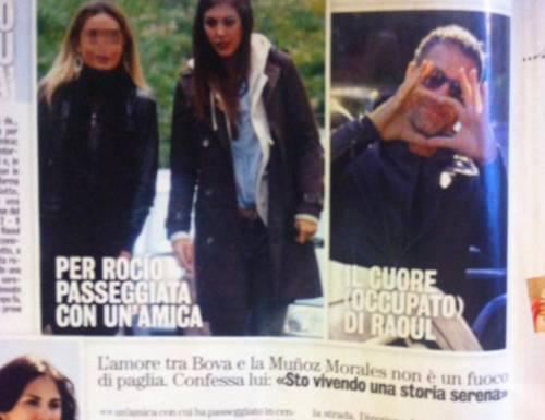 """Raoul Bova, addio Chiara Giordano. """"Diva e Donna"""": """"Ora convive con Rocìo"""""""