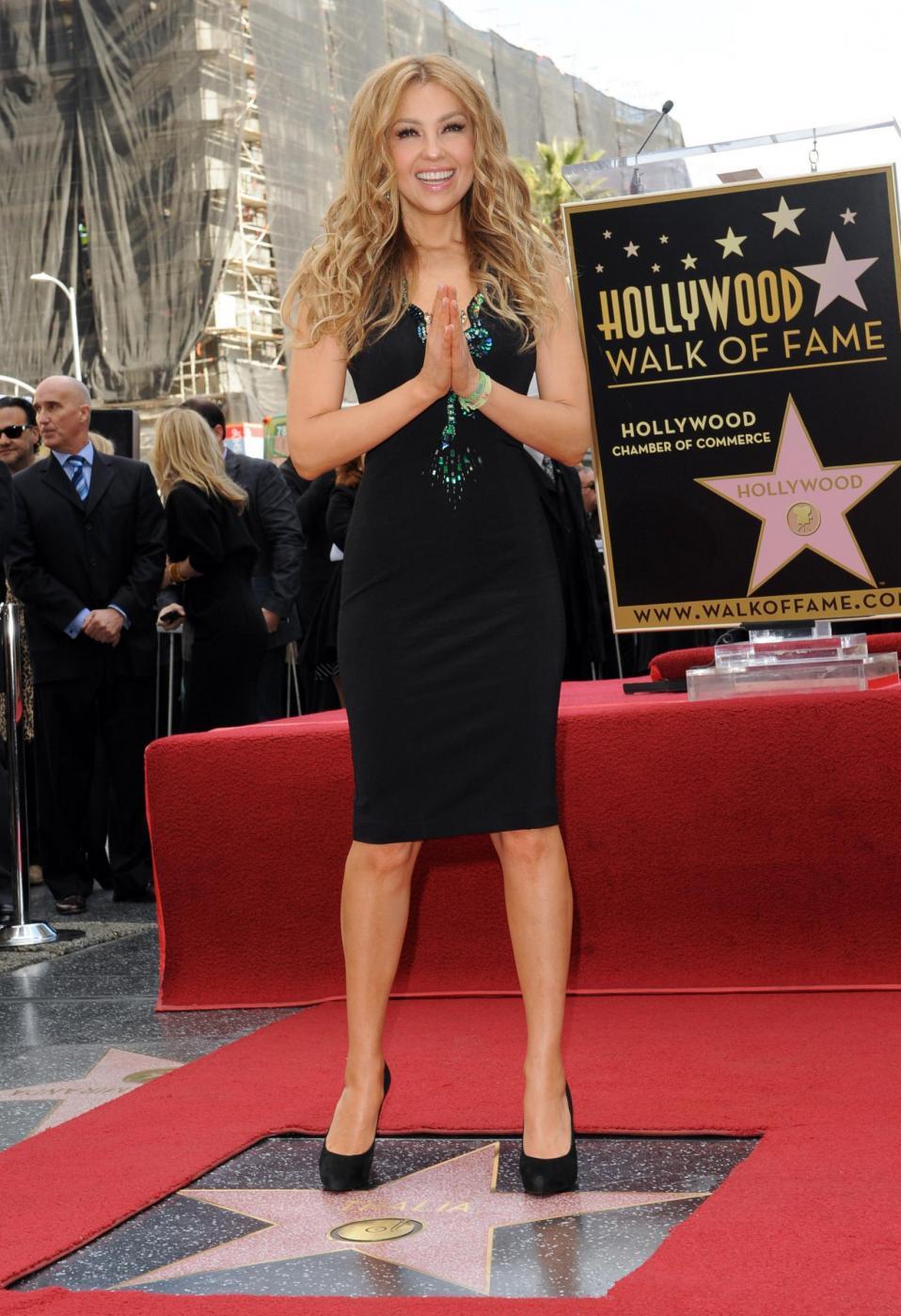 Thalìa, stella sulla Hollywood Walk of Fame per la regina del pop messicano 07