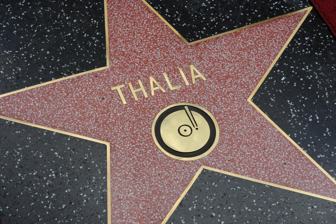 Thalìa, stella sulla Hollywood Walk of Fame per la regina del pop messicano 06