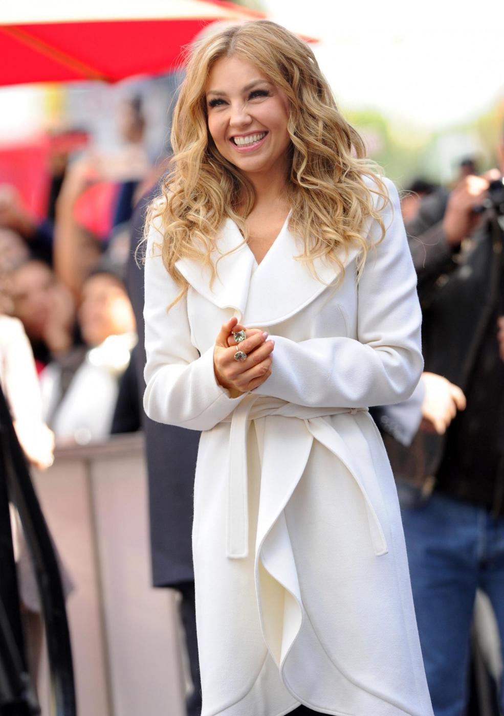 Thalìa, stella sulla Hollywood Walk of Fame per la regina del pop messicano 05