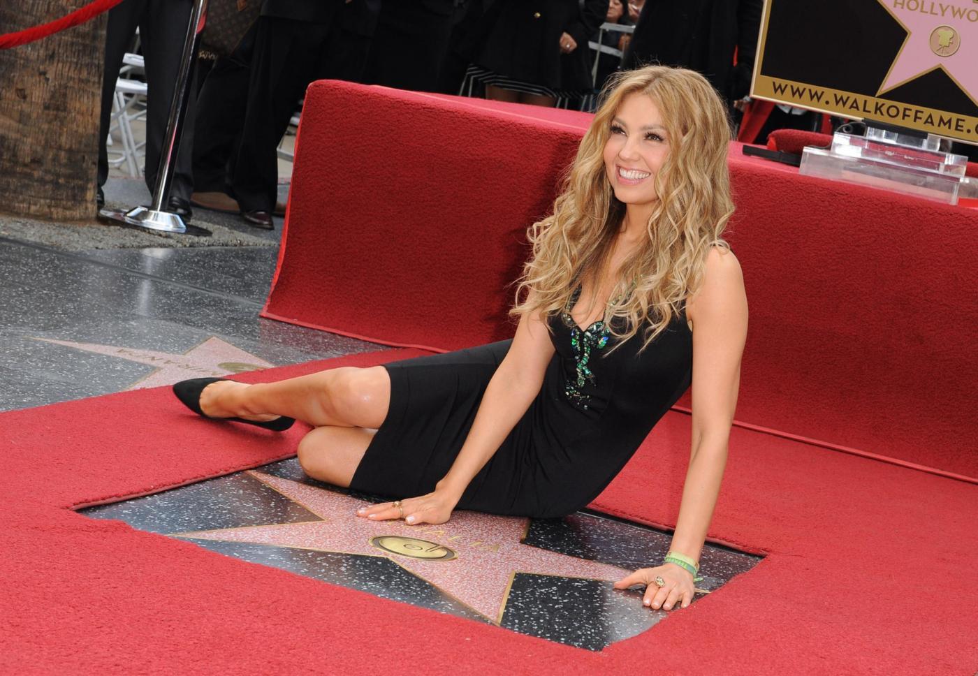Thalìa, stella sulla Hollywood Walk of Fame per la regina del pop messicano 02