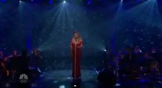 Mariah Carey e Michael Bublè, duetto di Natale in tv