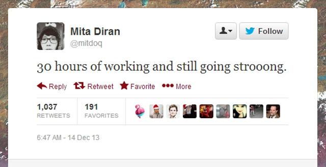 Mita muore dopo 30 ore di lavoro