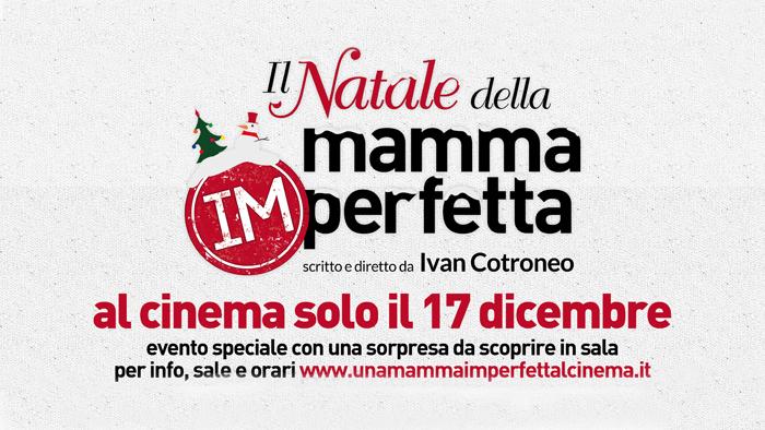 """""""La Mamma Imprefetta"""" arriva al cinema col suo """"Natale frenetico"""""""