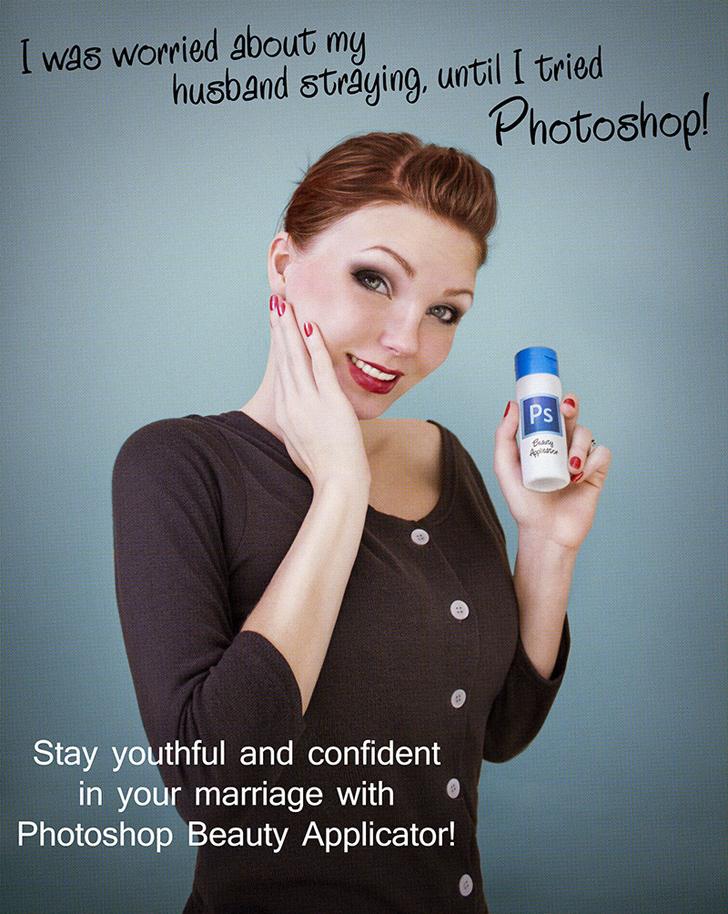Marchi di bellezza, Anna Hilla con Photoshop smaschera i 'trucchi'