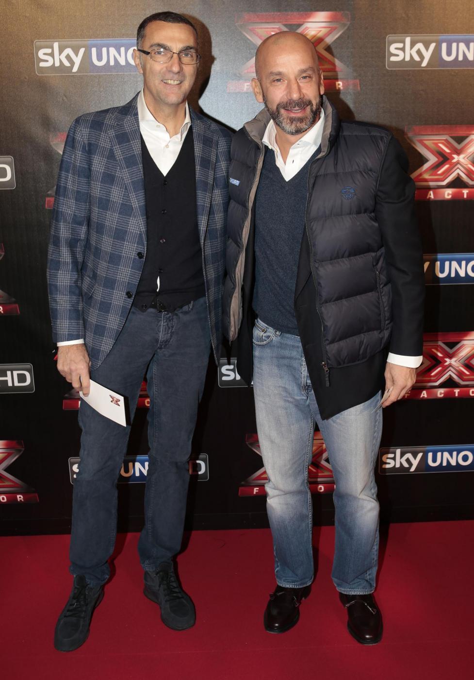 Giuseppe Bergomi con Gianluca Vialli