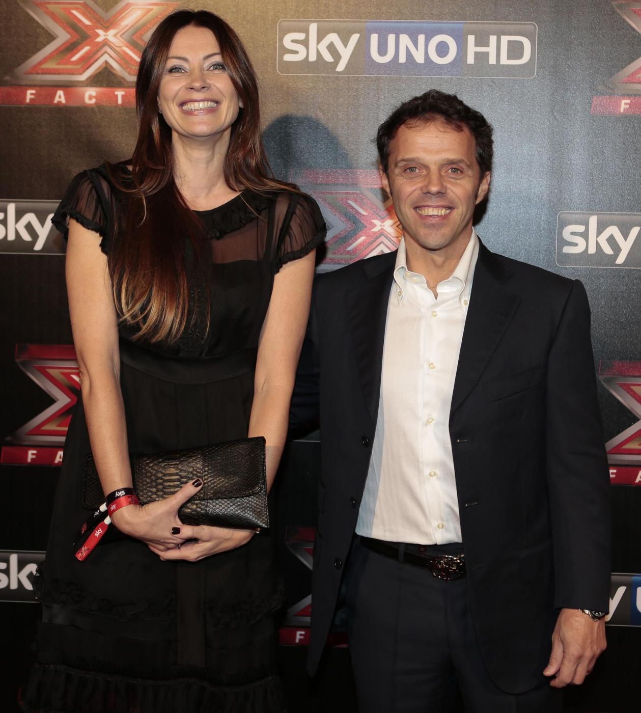 Loris Capirossi con la moglie