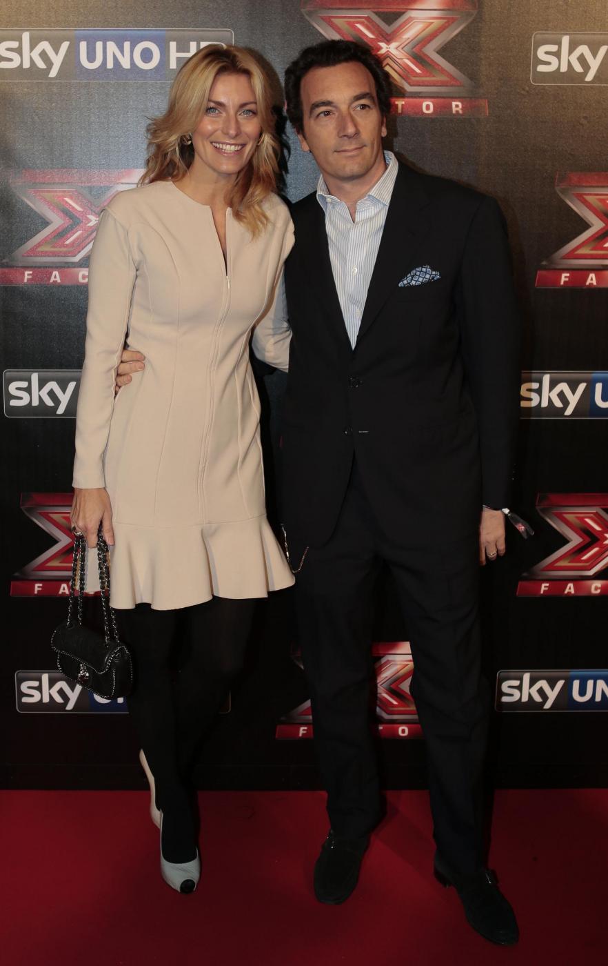 Federica Fontana con il marito