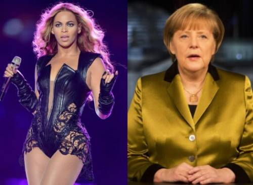 Da Angela Merkel a Beyoncé, le donne più influenti del 2013