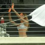 Beathi Prinsloo sul set a Miami01