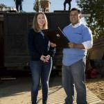 Chelsea Clinton volontaria per l'ambiente in California05