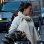 Fiammetta Cicogna e Claudia Galanti, shopping in via Montenapoleone 011
