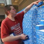 Il muro di mattoncini Lego più lungo del mondo 03
