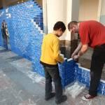 Il muro di mattoncini Lego più lungo del mondo 02
