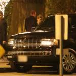 Johnny Depp, mamma Betty Sue e Amber Heard: Capodanno insieme al ristorante03