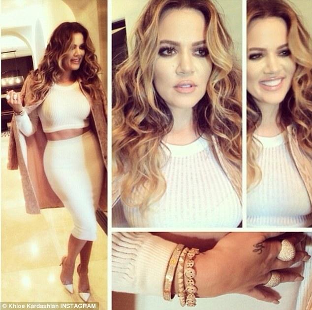 Khloe Kardashian dimagrita e con un look nuovo01