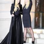 Lady Gaga a Parigi dall'amica Donatella Versace03