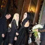 Lady Gaga a Parigi dall'amica Donatella Versace04