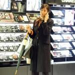Mara Carfagna, shopping di lusso a Roma02