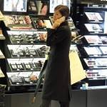 Mara Carfagna, shopping di lusso a Roma3