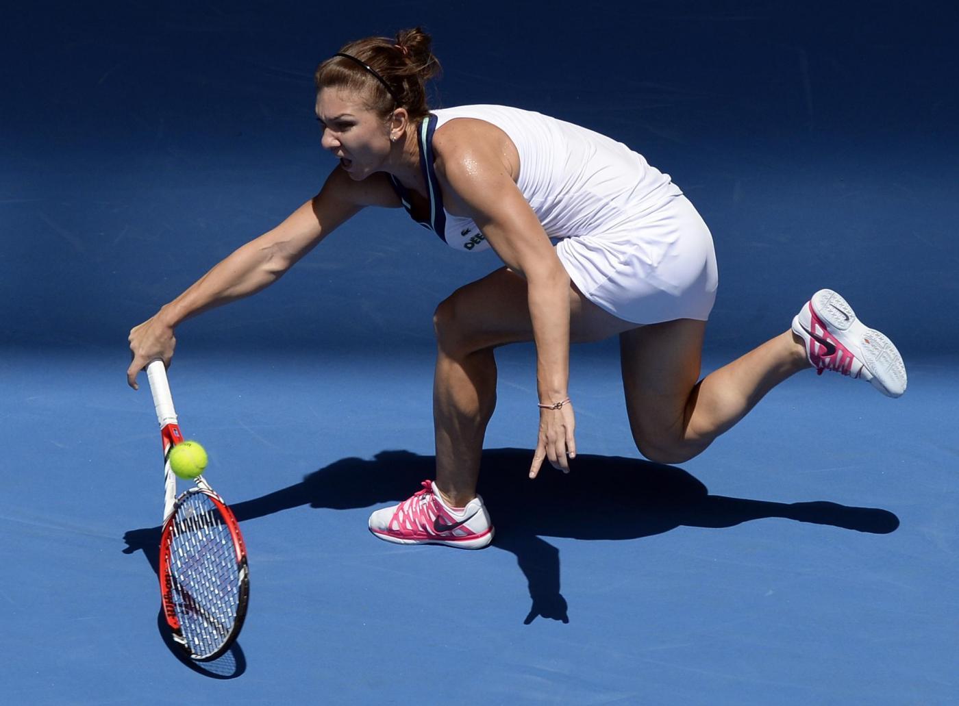 Simona Halep, la tennista rivelazione degli Australian Open si è ridotta il seno01