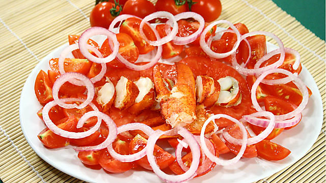 Ricette di pesce: astice alla catalana