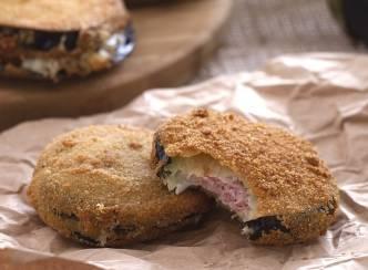 Finger food: cordon bleu di melanzane