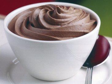 Ricette di dolci: mousse al cioccolato alla vaniglia