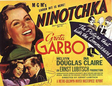 """Ninotchka"", Greta Garbo torna al cinema dal 6 gennaio"