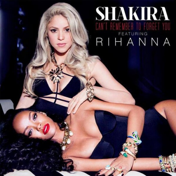 """Shakira e Rihanna insieme in """"Can't remember to forget you"""