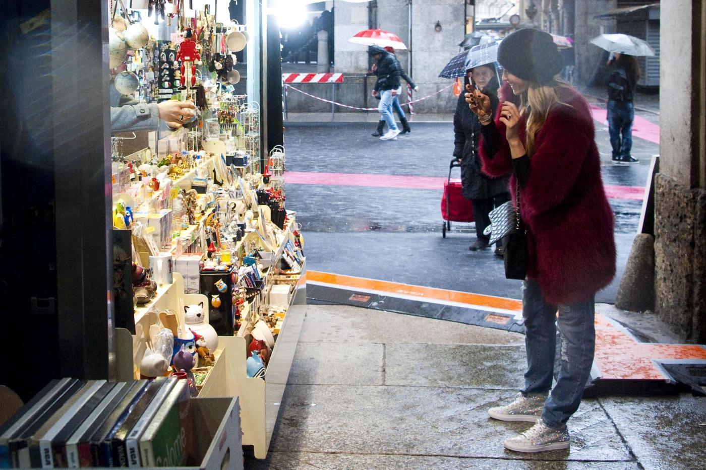 Elena Santarelli alla settimana della moda di Milano 07