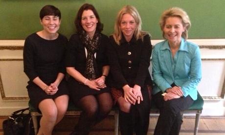 Le donne alla guida degli eserciti d'Europa conquistano il mondo: la foto
