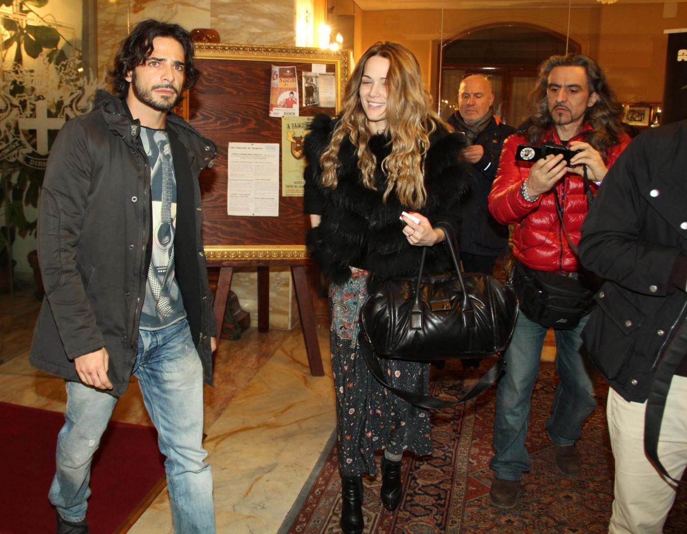 Laura Chiatti e Marco Bocci all'hotel Londra di Sanremo 03