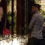 Mauro Icardi e Wanda shopping di lusso in via Montenapoleone 01
